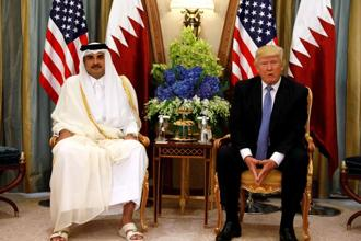 Foreign leaders expressed growing concern over the dispute, which pits Qatar against Saudi Arabia, UAE, Bahrain and Egypt. Photo: Reuters