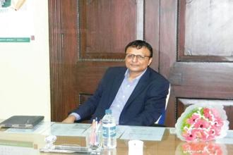 Shashi Shekhar Vempati takes charge as Prasar Bharati CEO on 12 June. Photo: Mint