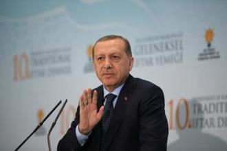 Turkey's President Recep Tayyip Erdogan vowed to keep supporting Qatar after his rapid approval of the bill, pushed through parliament on Wednesday, and he rejected accusations that it supported terrorism. Photo: Reuters