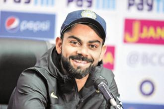 Virat Kohli had entered the Champions Trophy 2017 22 points behind number-one ranked AB de Villiers of South Africa, who had been No.1 since 25 February this year, and 19 points behind Australia's David Warner. Photo: AFP