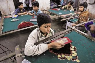 File photo. On Monday, the World Day Against Child Labour, the International Labour Organization said 168 million children are labourers. Photo: Reuters
