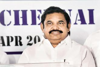 Tamil Nadu chief minister Edappadi K. Palaniswami. File photo: PTI