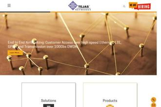 Tejas Networks's three-day IPO, which opens on Wednesday, is the first by an Indian telecom equipment manufacturer.