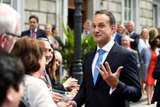 Leo Varadkar succeeded Enda Kenny earlier this month as leader of the Fine Gael party. Photo: Reuters