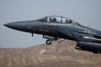 File photo. US Congress last year approved a sale of as many as 72 F-15 jets in an agreement valued at as much as $21 billion, providing authorization for the deal completed on Wednesday. Photo: Reuters