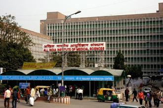 AIIMS declared the results of its MBBS online entrance test on Thursday. Over 2.84 lakh candidates had appeared for the examination, out of which 4,905 have qualified and are eligible for counselling session in AIIMS. Photo: Hindustan Times