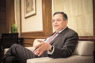 TCS continues to recruit people in every market, said chairman N. Chandrasekaran. Photo: Aniruddha Chowdhury/Mint