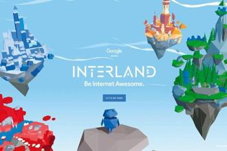 Interlandis divided into four mini-games, each with its own theme of digital safety.