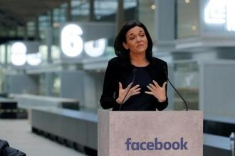 Facebook chief operating officer Sheryl Sandberg. Photo: Reuters