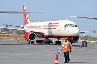 The debt-laden Air India is staying afloat on taxpayers' money and the government is looking at all options for its revival, including privatisation. Photo: Bloomberg