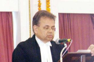 A file photo of justice Dalveer Bhandari. He was elected in April 2012 during simultaneous balloting in both the General Assembly and the UN Security Council to a seat on the ICJ, which is based in The Hague in the Netherlands. Photo: PTI
