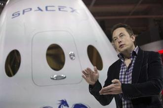 A file photo of Elon Musk, CEO of SpaceX. Photo: Reuters