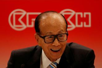 A file photo of billionaire Li Ka-shing. Photo: Reuters