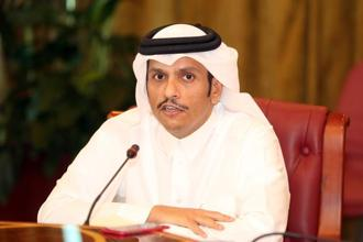 Foreign minister Sheikh Mohammed bin Abdulrahman al-Thani said Doha was ready to engage and address the concerns of other Gulf Arab states. Photo: AFP
