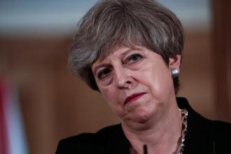 A file photo of UK Prime minister Theresa May. The UK's decision to leave the EU remains probably the biggest source of uncertainty for London. Photo: Bloomberg