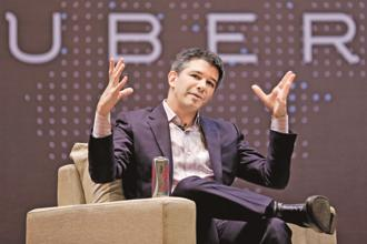 A file photo of Uber CEO Travis Kalanick. Photo: Reuters