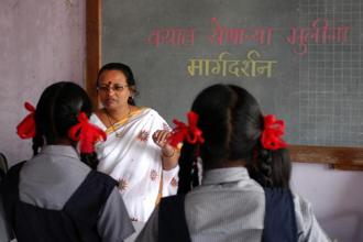 India needs to invest in teachers and support them. Photo: Hindustan Times