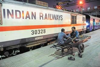 Service tax is levied only on AC and first class travel fares in the railways. Photo: Mint