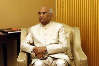 Ram Nath Kovind. JD (U) legislators say it was 'a matter of pride for Bihar' that a governor serving the state had been made a candidate for presidential election. Photo: AP