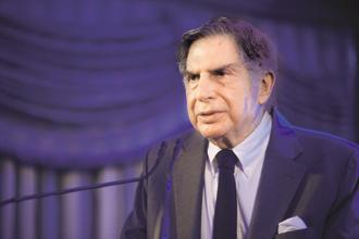 Tata Sons chairman emeritus Ratan Tata. Launched as Tata Group in 1932, Tata Airlines became Air India in 1946 and was nationalized in 1953. Photo: Abhijit Bhatlekar/Mint
