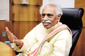 Labour minister Bandaru Dattatreya says aiming to help 10 lakh EPF subscribers build or buy homes in next two years, and the Hudco tie-up is a step towards the same. Photo: Priyanka Parashar/Mint