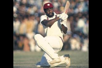 During the 1970s the performance of West Indies' top players, including Vivian Richards, was far superior to that of the rest of the world but the tide turned in the 1990s Photo: Getty Images