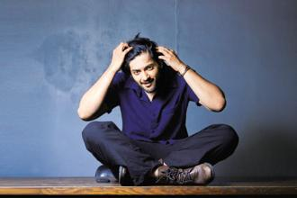 Ali  Fazal at Monkey Bar, Bandra. Photo: Aniruddha Chowdhury/Mint