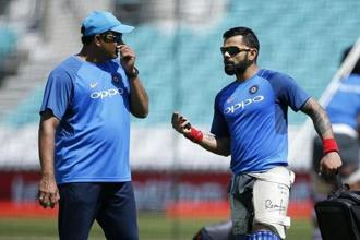 Anil Kumble was widely expected to be handed a new deal to continue in the role after a highly successful year in charge but his tenure came to an abrupt end earlier this week. Photo: Reuters