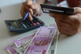The rupee opened at 64.55 a dollar and touched a high of 64.42. Photo: Mint