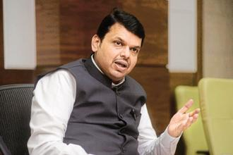 A file photo of Maharashtra chief minister Devendra Fadnavis. Photo: Hindustan Times