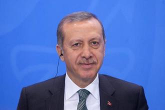 Turkish President Recep Tayyip Erdogan. Turkey said on Friday that the Turkish military base aims to train Qatari soldiers and increase the tiny Persian Gulf nation's security. Photo: Bloomberg