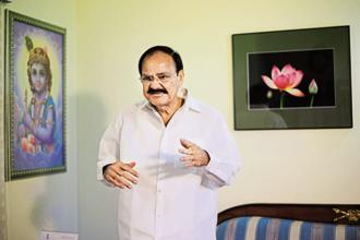 A file photo of M. Venkaiah Naidu, minister for urban development, housing and urban poverty alleviation. Other cities which are now a part of the mission include Gandhinagar, Muzaffarpur, Karnal, Tirunelveli and Gangtok. Photo: Mint