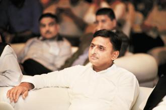 SP chief Akhilesh Yadav (above) and BSP supremo Mayawati have decided to share a platform at a rally organised by the Lalu Prasad-led RJD in Patna on 27 August. File photo: Ramesh Pathania/Mint