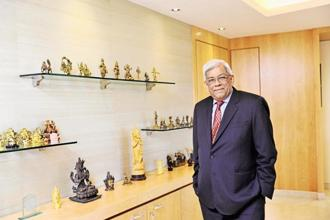 Deepak Parekh says loans against property are now experiencing some level of stress. Photo: S Kumar/Mint