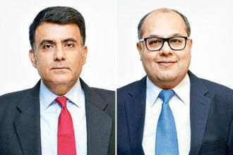 Amitabh Malhotra (left) and Chandresh Ruparel, co-heads and managing directors of Rothschild India.