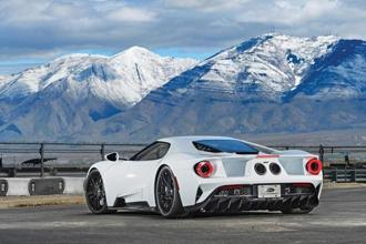 Supercars are usually nervous or edgy at the limit, but not Ford GT.