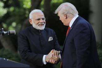 US President Donald Trump said the security partnership between the US and India is incredibly important. Photo: Reuters