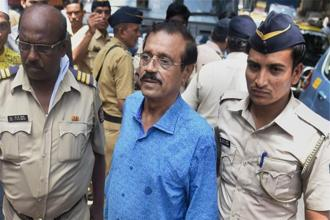 Mustafa Dossa, who was convicted along with 5 others in second leg of the trial in the 1993 Mumbai serial blasts case, was admitted to the jail ward of the hospital around 3am today. Photo: PTI