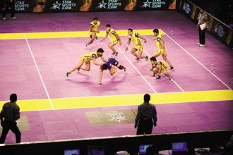 Pro Kabaddi League has 12 teams and more than 130 matches, making it the largest sporting league in terms of the number of teams and matches played. File photo: Mint