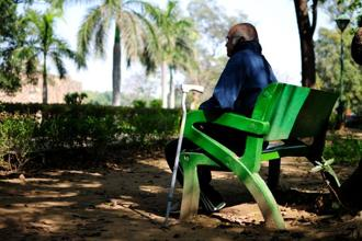 In urban areas, 3,205 elderly people out of 5,000 felt lonely, according to the survey. Photo: Pradeep Gaur/Mint