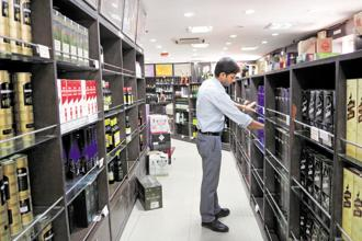 Liquor firms expect the industry to stabilize in 6-8 months after GST rollout, especially once the increase in cost is passed on to the end consumer. Photo: Ramesh Pathania/Mint