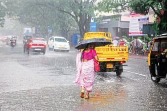 Mumbai has received 541 mm rainfall since 1 June (till today), which is 12.7 mm more than the average rainfall Mumbai gets by 29 June. Photo: Mint