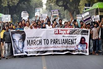 JNU student Najeeb Ahmed has been missing for over eight months now. Photo: PTI