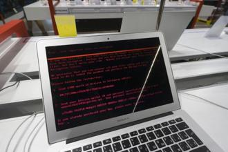 The cyberattack that has hit businesses and governments across Europe, Latin America and Asia is similar to last month's attack by a malware called WannaCry. Photo: Bloomberg