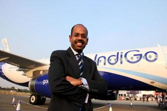 IndiGo, with a domestic market share of a little over 41%, is keen on snapping up the international operations of Air India as well as its profitable low-cost arm Air India Express. Photo: Bloomberg