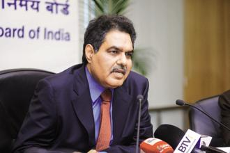 Sebi chairman Ajay Tyagi. The algo-trading case may push the NSE IPO to next year. Photo: Abhijit Bhatlekar/Mint