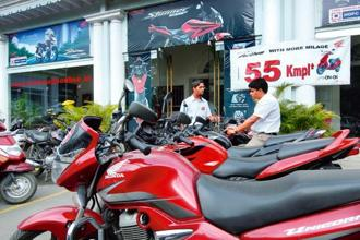 In June, Honda Motorcycle sold a total of 444,713 units, up 4%, from 427,222 in the same month last year. Photo: Mint