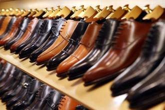 The GST rate on leather goods is at 28%, making leather shoes more expensive. Photo: Bloomberg