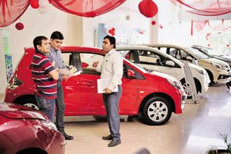 New car insurance is already integrated with a new car purchase and is included in the 'on road' price. Photo: Pradeep Gaur/Mint