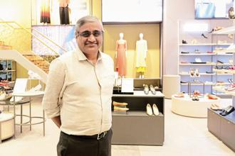 Future Group founder and group CEO Kishore Biyani. Future Lifestyle Fashions, Future Retail and Future Consumer come under Ryka Commercial Ventures. Photo: Hemant Mishra/Mint